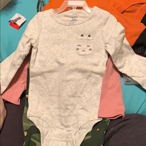12 month girls three piece outfit